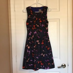 Vince Camuto Fit Flare Floral Dress